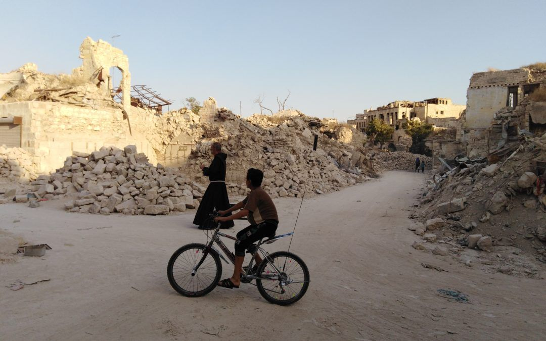 Una peregrinación fraterna en Siria