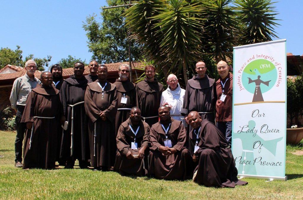 Animadores JPIC de la Conferencia Africana se reúnen en Sudáfrica.