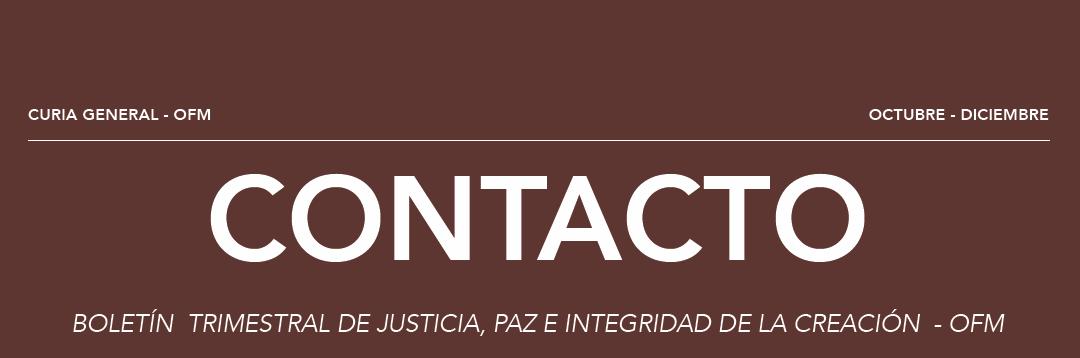Boletín Contacto, octubre – diciembre.