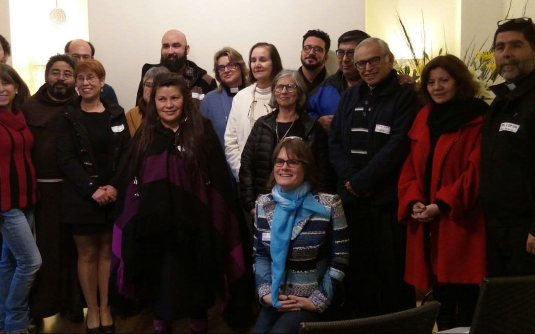 "Franciscans in Chile take part in  ""Interreligious and Spiritual Alliance for Climate Agreement"""