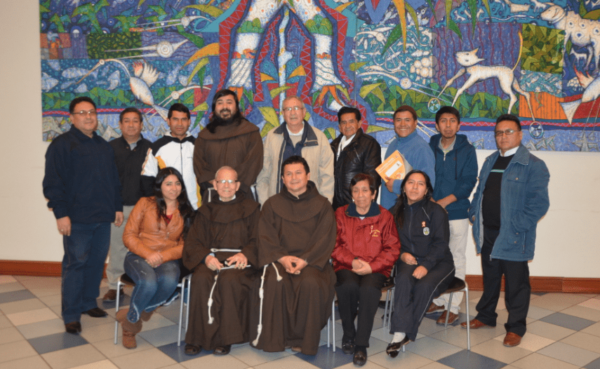 Lima, extraordinary meeting of JPIC in the Provincia XII Apóstoles