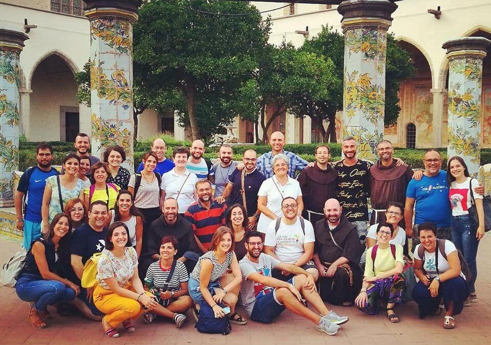 Permanecer en el encuentro. Campamento JPIC para jóvenes y frailes en Nápoles