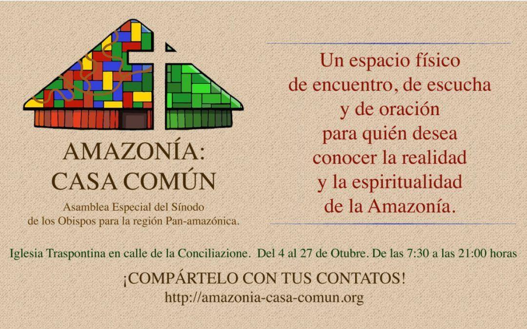 Amazonía: nuestra  casa común