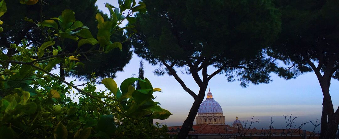 The Feast of St. Francis in the Vatican Gardens