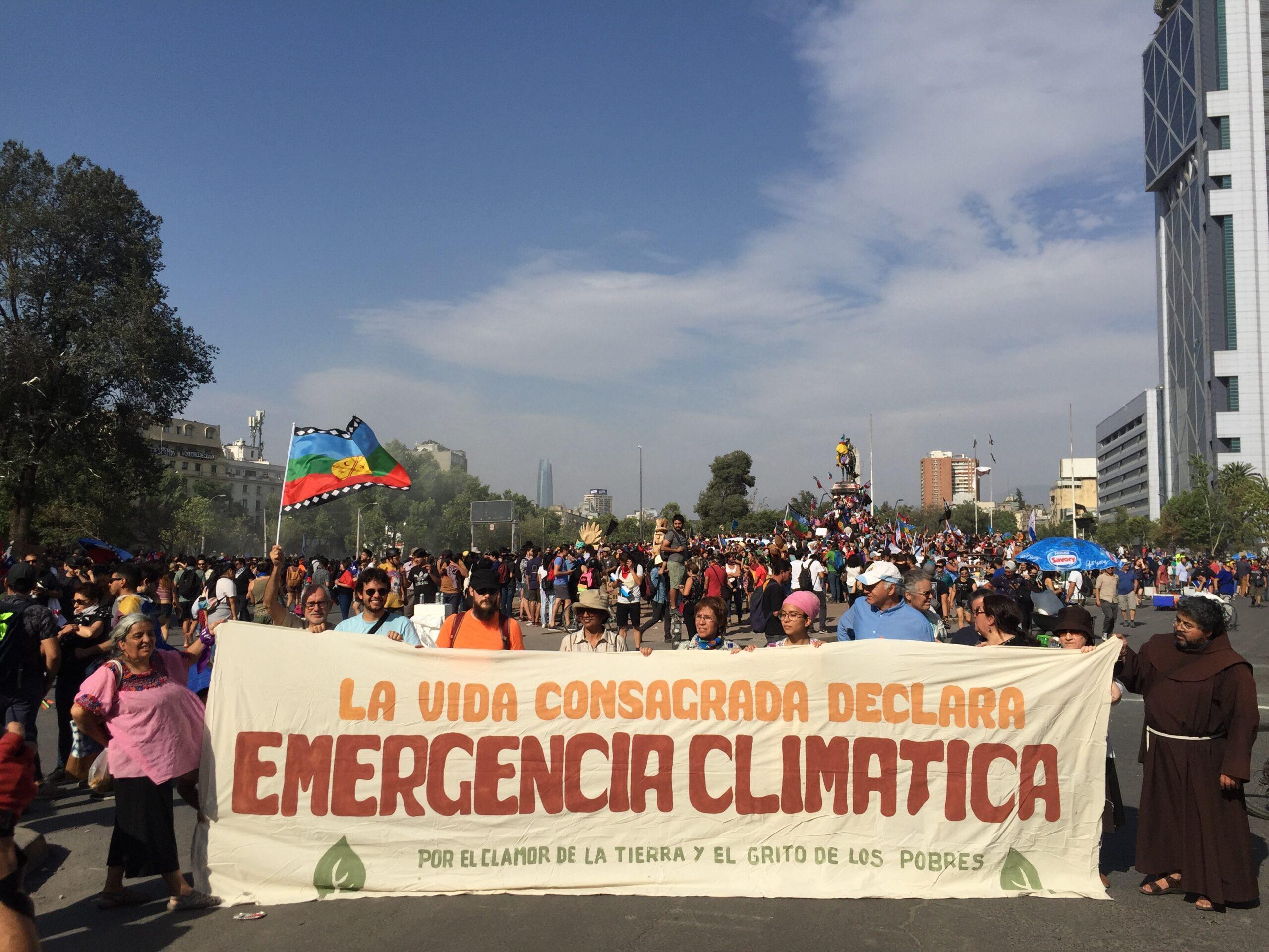 Actividades Franciscanas por el medio ambiente en Chile