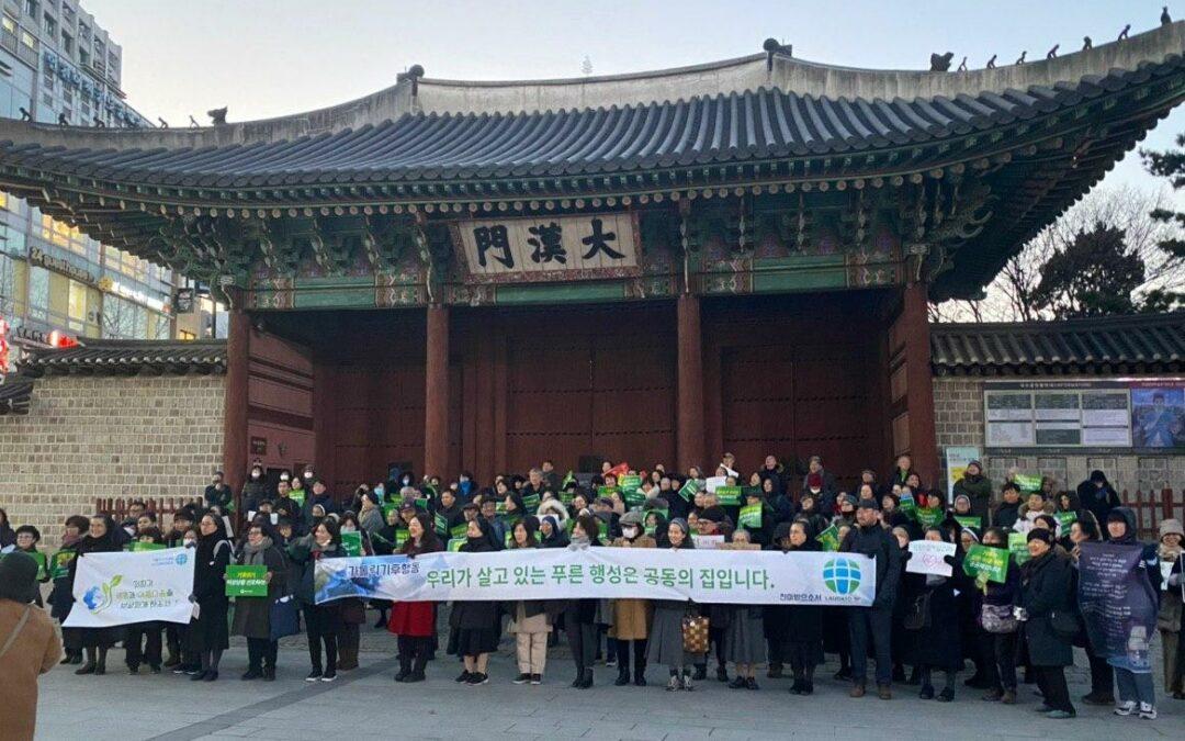 Movimento Climatico dei Francescani in Corea