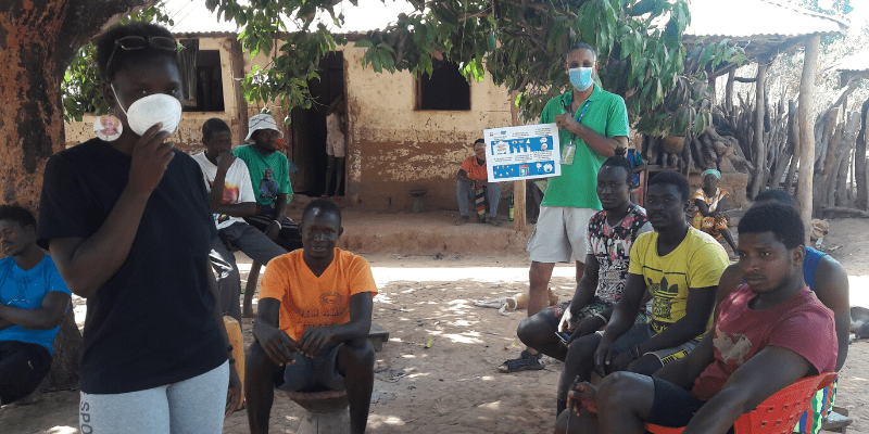 Guinea-Bissau, activities of the friars for the Coronavirus emergency