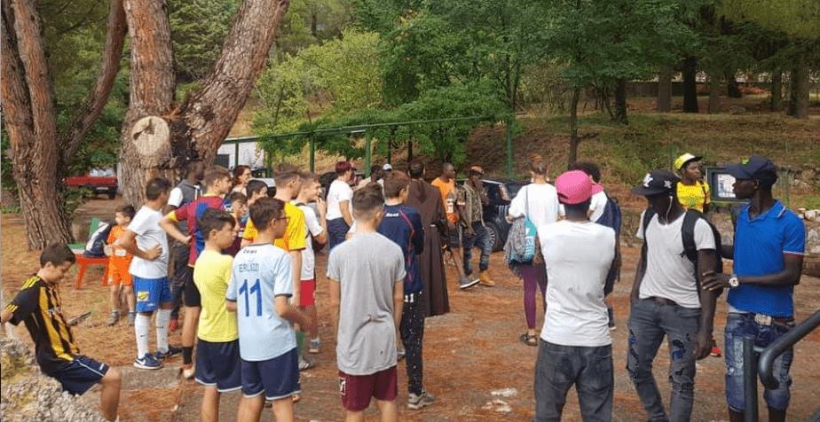 Dos años de misión de la fraternidad custodial en Capaccio, Italia