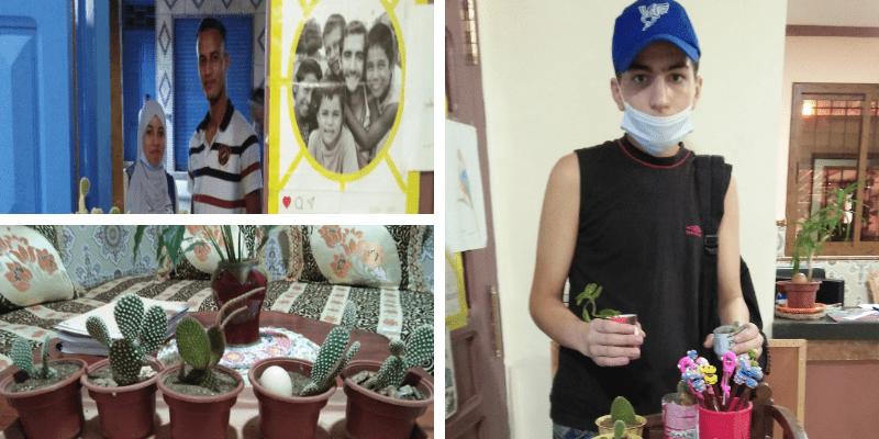 Marruecos, exposición e intercambio de plantas
