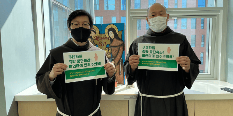 Salvar Myanmar, detener el golpe. Apoye a Myanmar