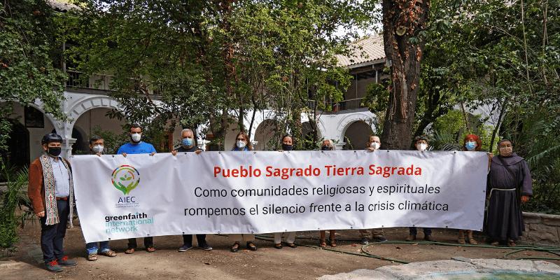 Orden Franciscana en Chile, forma parte del día mundial de la acción global por el clima