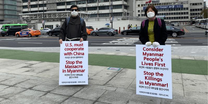 Campaña mundial: Detener la masacre en Myanmar