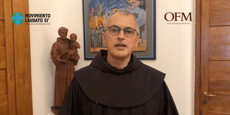 Fr. Massimo Fusarelli, OFM participa del anuncio del nuevo nombre del Movimiento Católico Mundial por el Clima