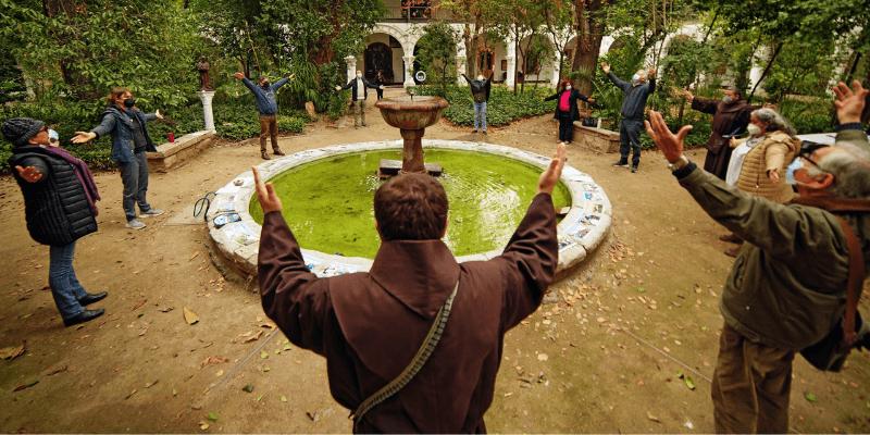 JPIC Franciscanos en Chile organización oración ecuménica