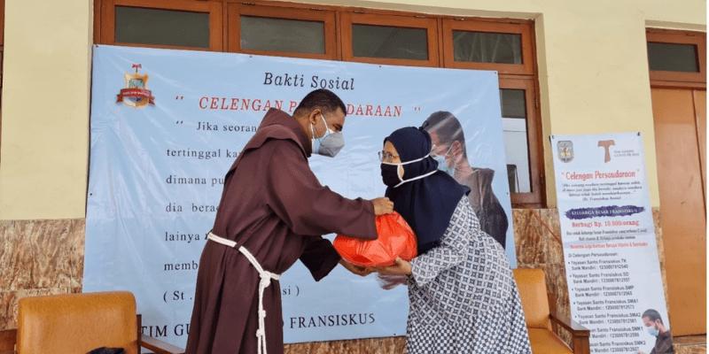 El espíritu franciscano que transmite esperanza a los demás